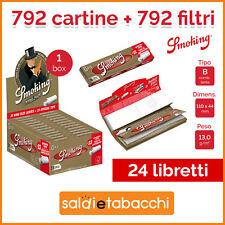 792 CARTINE SMOKING ORO LUNGHE + 792 FILTRI