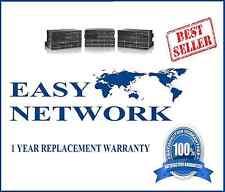 *USED* Cisco WS-C3750G-48PS-E 48 10/100/1000T PoE + 4 SFP + IPS Image Switch