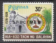 Specimen, Philippines Sc1374 Architecture, Church and Arms of Balayan