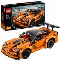 LEGO 42093 Technic Chevrolet Corvette ZR1 Race Car, 2 in 1 Hot Rod Toy Car
