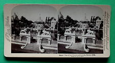 Foto STEREO alcutta India per 1900 Underwood, ORIGINALE