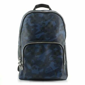 Louis Vuitton Andy Backpack Limited Edition Camouflage Damier Cobalt