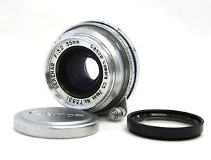 Canon Serenar 35mm F/3.2 L39 LTM Leica Thread Mount Lens from Japan