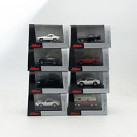 3PCS Set 1:87 Scale Schuco EDITION Diecast Porsche Series Mini Car Model