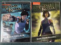 The Legend Of Korra Book  1 & 4 DVD