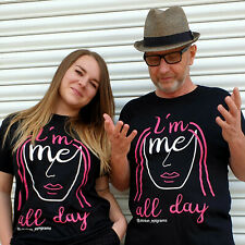 Quality UK Printed Pride T-Shirt - I'm Me All Day (3 Sizes) 100% Ringspun Cotton
