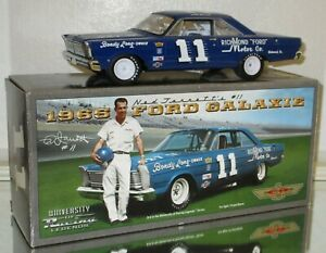 UNIVERSITY OF RACING LEGENDS NED JARRETT #11 1965 FORD GALAXIE AUTOGRAPHED CAR