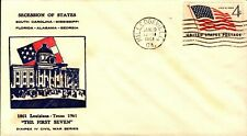 """Event: Secession of States """"The First Seven""""  Milledgeville GA 1961 Lot#771"""