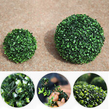 12-30cm Synthetic Green Grass Ball Topiary Hanging Plants Garland Home Decors