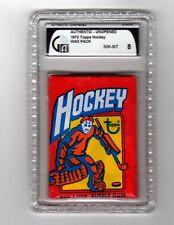 1972 Topps Hockey Wax Pack GAI 8