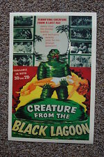 Creature From the Black Lagoon #5 Lobby Card Movie Poster Red/Green