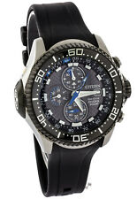 NEW CITIZEN ECO DRIVE DIRVERS DEPTH METER CHRONOGRAPH PROMASTER WATCH BJ2115-07E