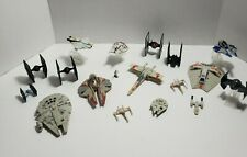 Star Wars Ship Lot, 17 Ships and 1 Mini Storm Tropper Included, Good Condition