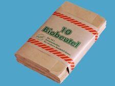 150 Papiermüllbeutel Bio Beutel Mülltüten Abfalltüten Papier Kompostbeutel 10l
