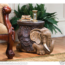 "ROYAL DE LUXE "" VISIT OF THE SULTAN INDIES"" ELEPHANT EXOTIC TABLE SCULPTURE"