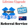 Dropbox 18 GB Lifetime Upgrade Permanent Space Friends Referral Service