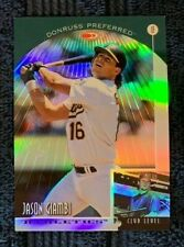 1998 Donruss Collections Preferred PRIZED Refractor #618 JASON GIAMBI SP /55