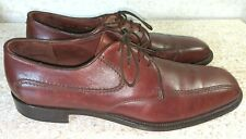 E.T.WRIGHT Arch Preserver Brown Oxford Size 10.5 A, Made in Italy MSRP $369