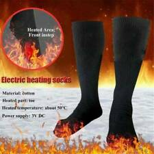 Electric Heated Socks~Rechargeable Battery Feet Foot Winter Warmer Thermal Sock