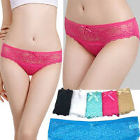 Ex Boux Avenue Grey And Pink Cotton Sporty Tanga Knickers Various Sizes Availabl