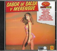 Sabor de SALSA y MERENGUE vol. 2 - CD - MUS