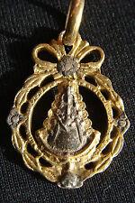 Old Virgin Mary of El Rocío Beautifully Detailed Medal Pendant