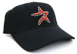 Youth Kids Houston Astro Black/Red New Era Baseball Cap Hat One Size Fits All
