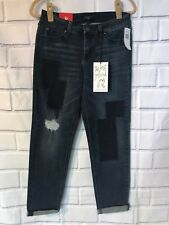NWT Celebrity Pink Skinny Jeans Wash Sz 9/29 Girlfriend Patches Distressed New