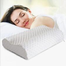 Health Slow Rebound Health Care Sleep Memory Foam Cervical Neck Pillow for Adult