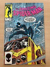 The Amazing Spider-Man #254 Marvel Comics Peter Parker Jack O'Lantern 60c Issue