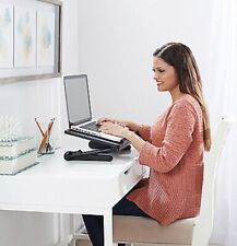"""AirSpace  18.5"""" Adjustable Laptop Desk W/ Cooling Fan & Mouse Pad."""