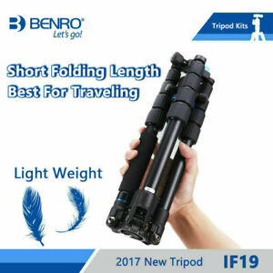 BENRO  IF19 Tripod Aluminium Portable Travel Tripods