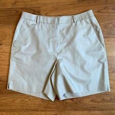 Brooks Brothers 346 Advantage Women's Khaki Walking Bermuda Shorts Size 12