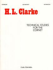 Herbert L. Clarke Technical Studies for the Cornet Trumpet Schule Noten Trompete
