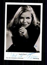 Ingrid estrella rüdel autografiada mapa original firmado top # bc 700