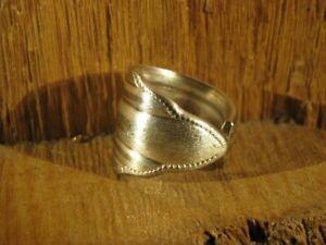Nr.7 Geschenk Silberbesteck Besteckschmuck Silber Ring sonpladu2016