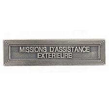 Agrafe pour médaille Ordonnance MISSIONS D'ASSISTANCE EXTÉRIEURE