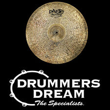 """PAISTE *NEW 2014* 20"""" Masters Series Dark Dry Crash Cymbal - ***ONE ONLY ***"""