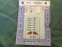 Microscale decals N 60-1054 Union Pacific 1996 Olympic Torch Relay Train     F91