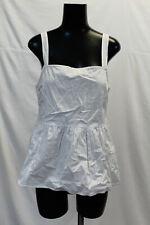 ASOS Women's Tall Cotton Camisole SV3 White Size US:6 UK:10 NWT