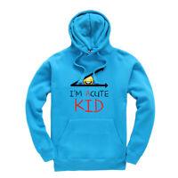 I'm Acute Kid Kids Hoodie Hooded Sweatshirt Ages 3-13