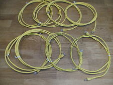 10 Stück Patchkabel LAN-/Netzwerk-Kabel DSL *GELB*  10 X 2m lang!!! TOP!