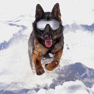 Dog Goggles Dog Sunglasses Large Medium Dogs UV Protection Adjustable Strap