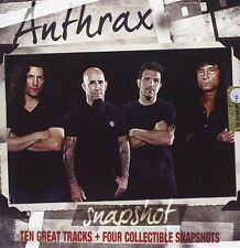 Anthrax - Snapshot (2013)  CD + 4 Snapshots  NEW/SEALED  SPEEDYPOST