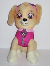 """11"""" Paw Patrol Skye Plush Stuffed Animal Girl Dog Pink Nickelodeon Spin Master"""