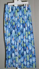 Boys Sleep Pants Pajama Bottoms Sleepwear Blue Surfboards New Size 4
