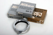 Nikon Micro Ring Attachment BR-3 Macro Adapter Ring 52mm Filter Reverse lens