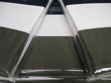 Ralph Lauren 624 Langdon Tweed Green 3pc Duvet Cover Sham Set - Full/Queen