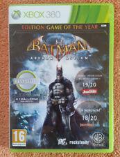 BATMAN ARKHAM ASYLUM XBOX 360 / Pal Fr