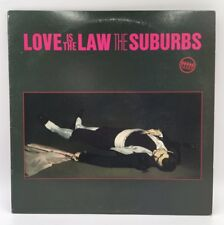 "THE SUBURBS ""Love Is The Law"" LP 1983 MERCURY"